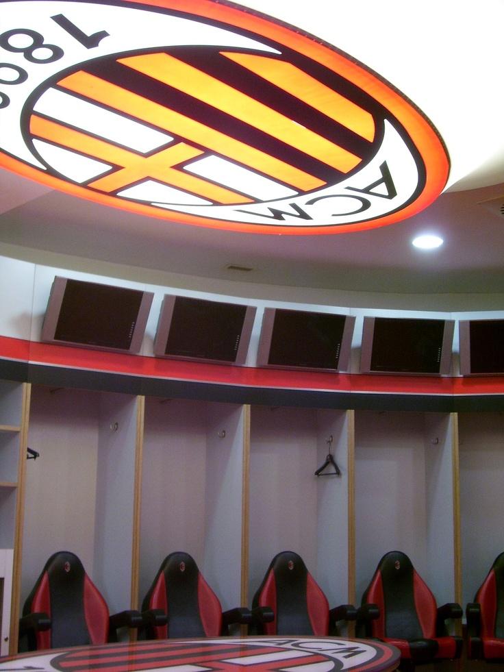 AC #Milan locker room #stadiums