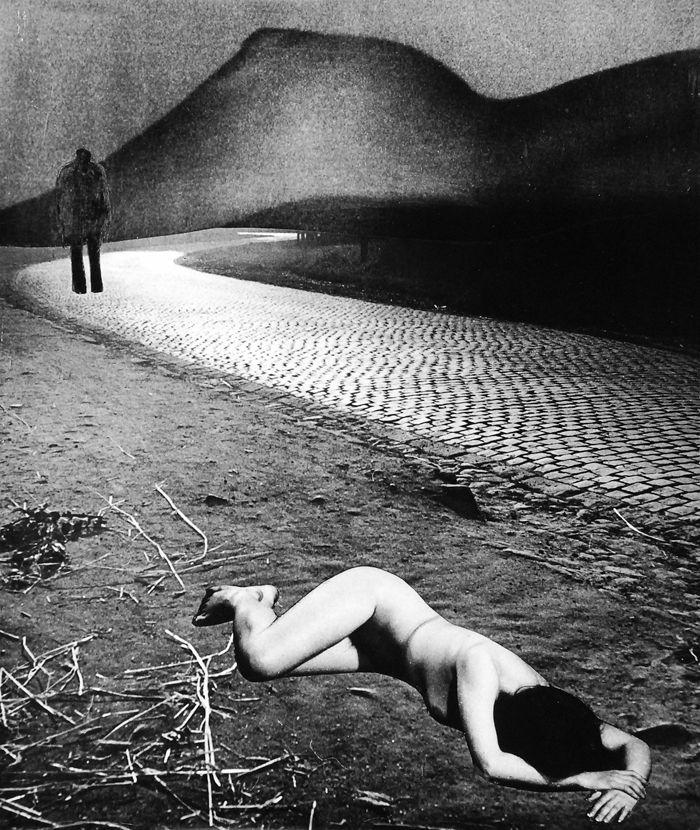 """Zofia Rydet, Zofia Rydet, """"Odejścia"""" z cyklu """"Świat uczuć i wyobraźni"""", 1975-1979"""