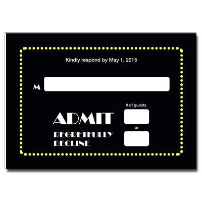 59 best Broadway Theme Bar and Bat Mitzvah Ideas images on - broadway ticket template