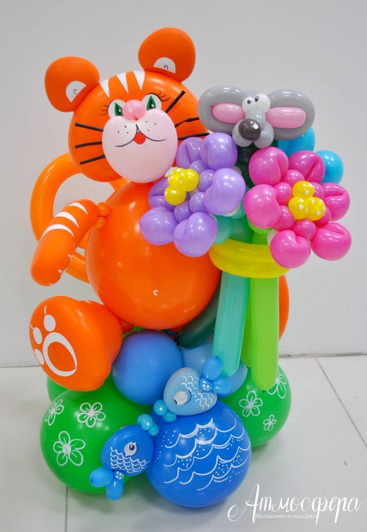Праздничный декор, упаковка подарков, шары