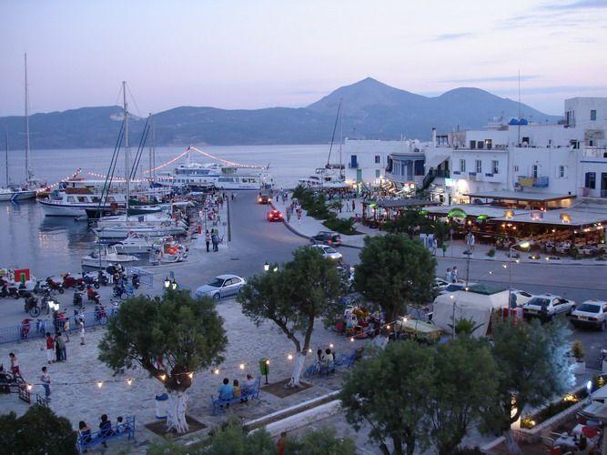Adamas, Milos, Greece