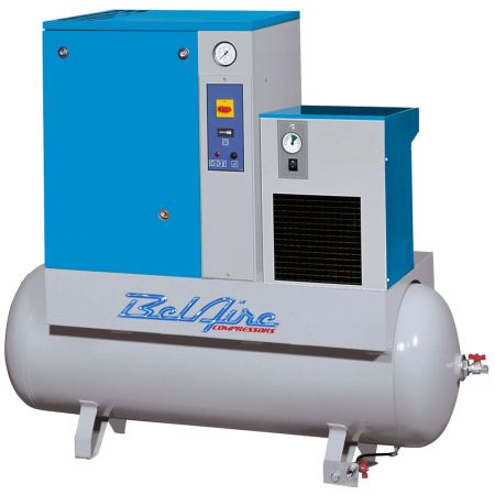 Compressor 5HP Rotary Screw W/Dryer