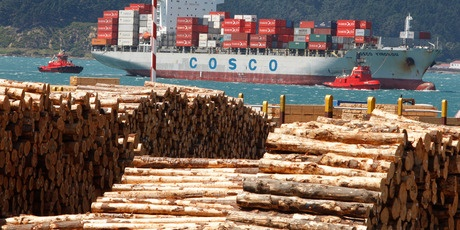 Strong overseas demand for New Zealand logs is putting pressure on the local supply and pushing up timber prices for consumers....