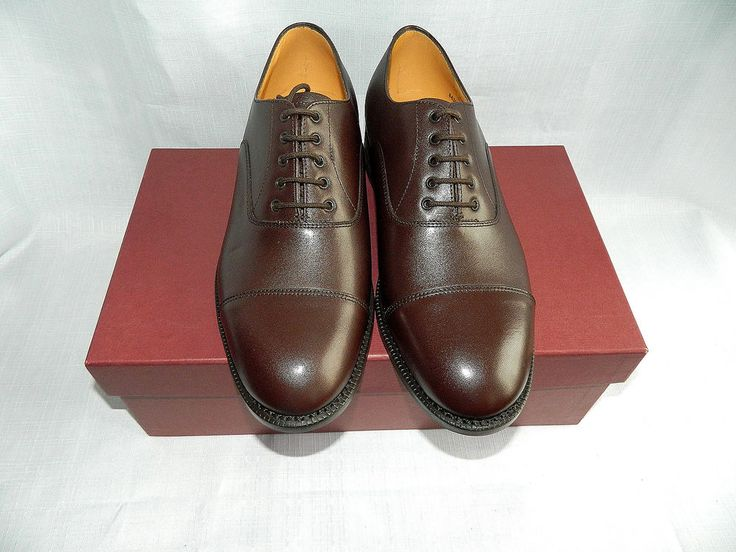 Details about BROWN LEATHER OFFICERS NO2 DRESS SHOES - Size: 8 Medium , British…