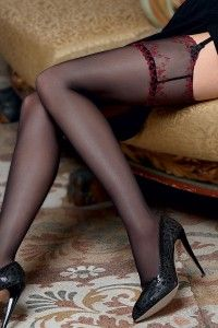 Lise Charmel Recital Sexy AAC2555 Black - Lise Charmel Recital Sexy AAC1555  Black - pończochy do pasa. Pończochy to idealny prezent, jeśli nie jesteś pewien, co wybrać a chcesz podarować coś eleganckiego. Cena 199 złotych. Zapraszamy!