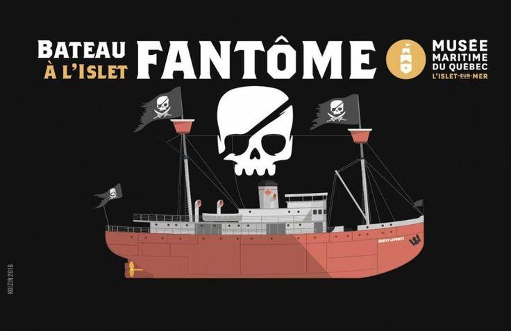 Le 29 octobre, les pirates envahissent le brise-glace Ernest Lapointe ! - Actualités - Tourisme Côte-du-Sud