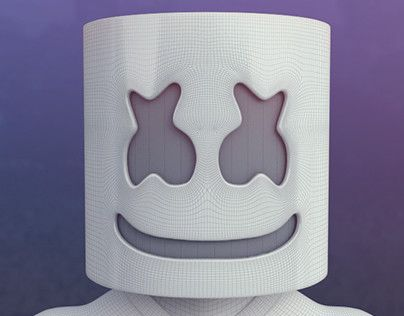 "Check out new work on my @Behance portfolio: ""Marshmello 3D"" http://be.net/gallery/41312205/Marshmello-3D"