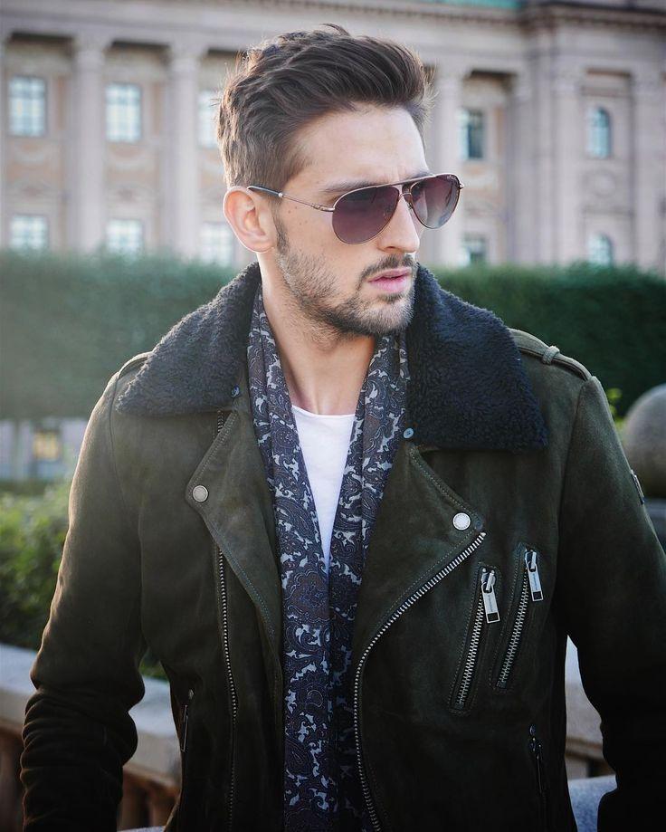 David Lundin in Orion jacket