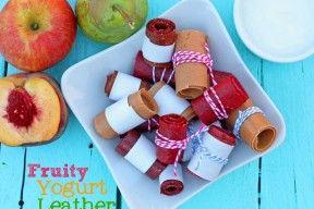 Fruity Yogurt Fruit Leather