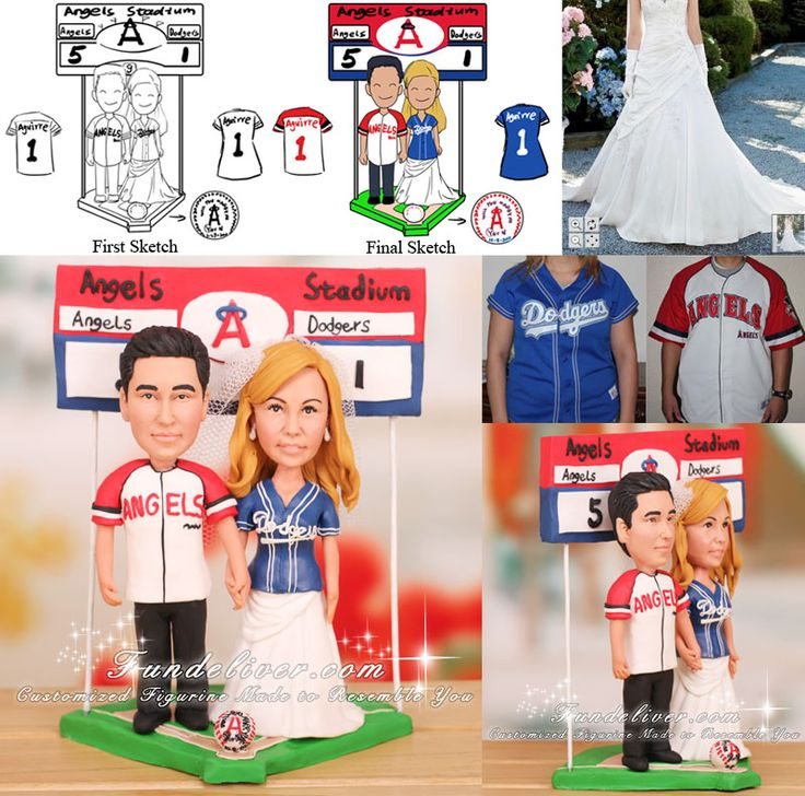 angels baseball wedding cake topper 1000 ideas about baseball wedding cakes on 10763