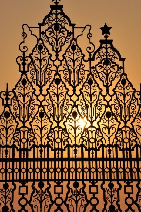 Best moroccan wrought iron details images on pinterest