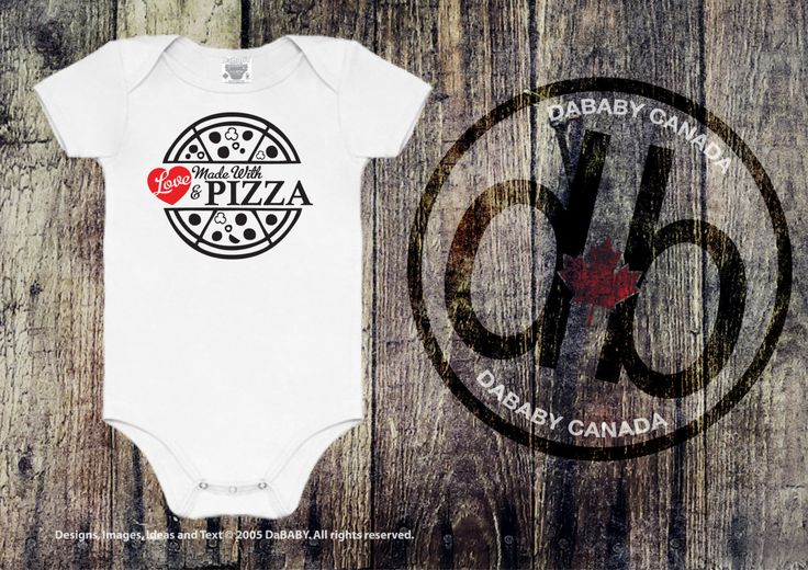 Made with Love and Pizza Baby Bodysuit - Cute Baby Shower Gift - Take Home Hospital Outfit http://etsy.me/2GNNLQL #clothing #children #baby #babyshower #uniquebabygift #babyshowergift #uniquebabyonesie #keepsakebabygift #babygirlsclothing #EtsySeller