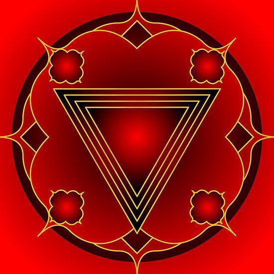 Mandala Muladhara....Root Chakra by shoffman
