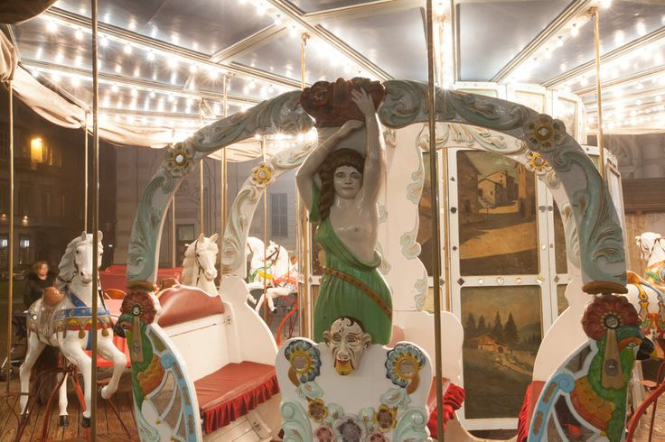 Antique carousel details by vlad-m.deviantart.com on @deviantART