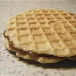 Stroopwaffels I Allrecipes.com  Yum! I'm officially in love with these cookies. Thanks ALOT Susan!