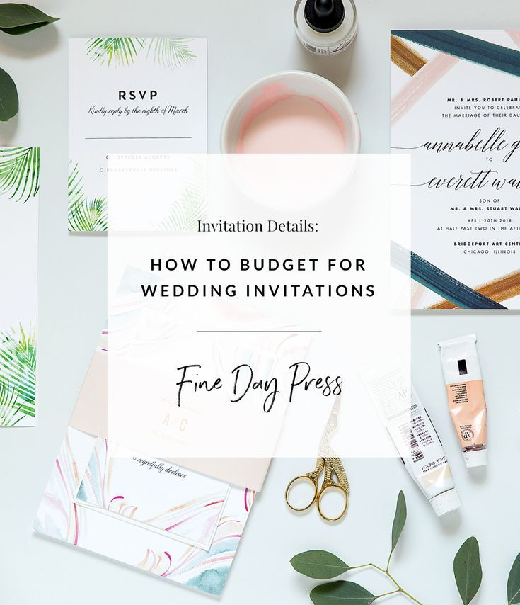How To Budget For Wedding Invitations Fine Day Press Mail Wedding Invitations Printing Wedding Invitations Wedding Invitation Envelopes