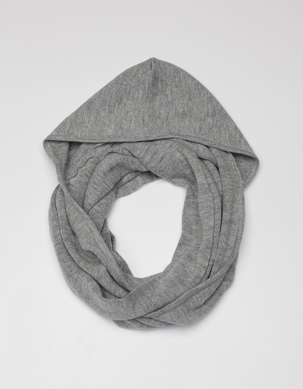 hooded scarf by megmorrissey