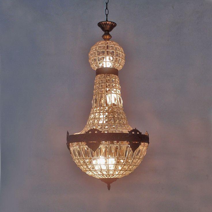 Реплика ретро старинные большой большой овальный круглый шар французская империя стиль сумка хрустальная люстра для украшения импортеры лобби отеля изделия освещение бра лампа светодиодная купить на AliExpress