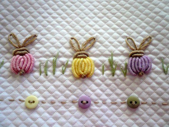 Buttons and Bunnies Dakota Pique w/ Lavender Pima by GailDoane
