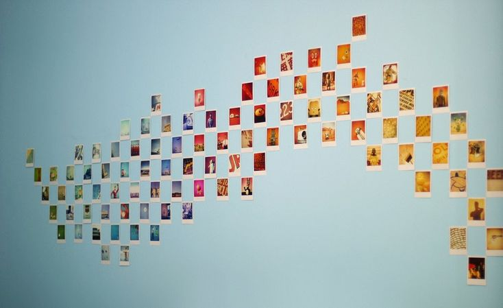 Creative Influences: Celebrating Photography - Polaroid Display