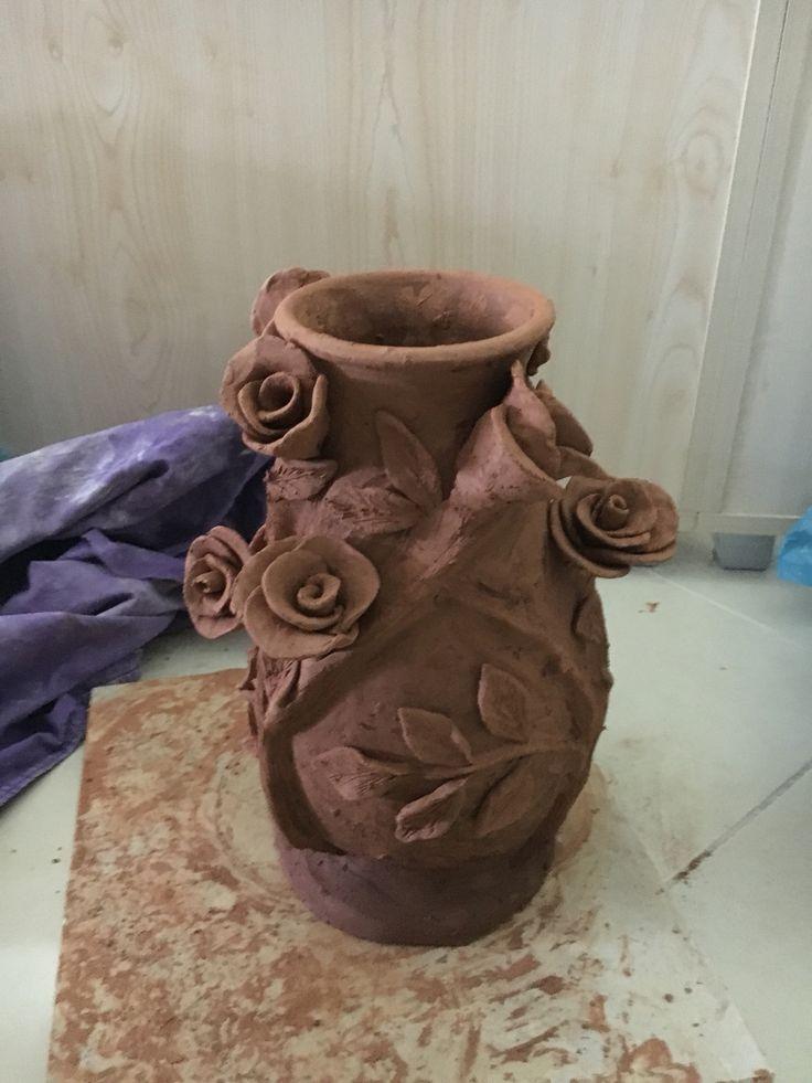 Toprak seramik vazo
