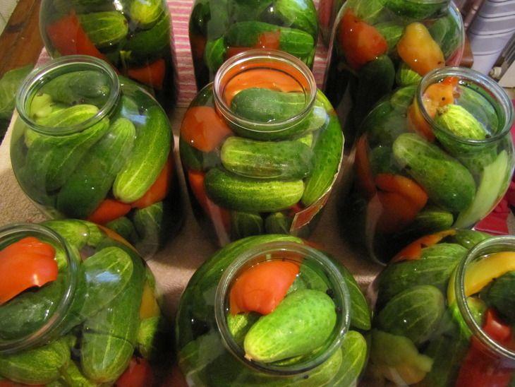 Огурцы без уксуса на зиму - пошаговый кулинарный рецепт с фото на Повар.ру