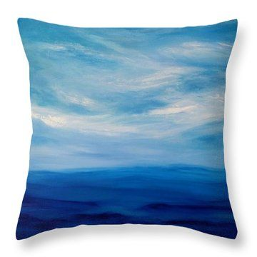 Daydream Throw Pillow by Amber Tattersall