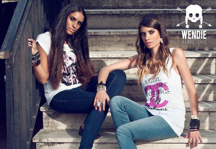 La prima collezione 2013 di t-shirt WENDIE.
