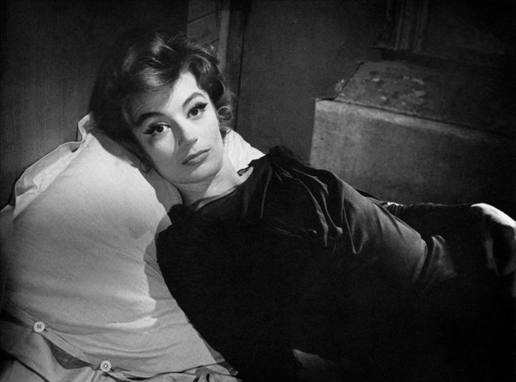 """""""It`s so much better to desire than to have.""""-Anouk Aimée. Anouk always maintained an element of mystery and desire in all aspects of her career, thus always challenging herself and pushing herself forward. #styleicon #modcloth"""