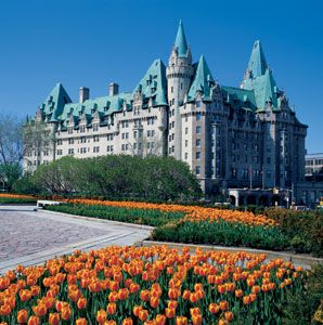 The Fairmont Chateau Laurier in Ottawa.