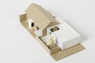 Solomon Street Addition and Alteration - Model. Philip Stejskal Architecture
