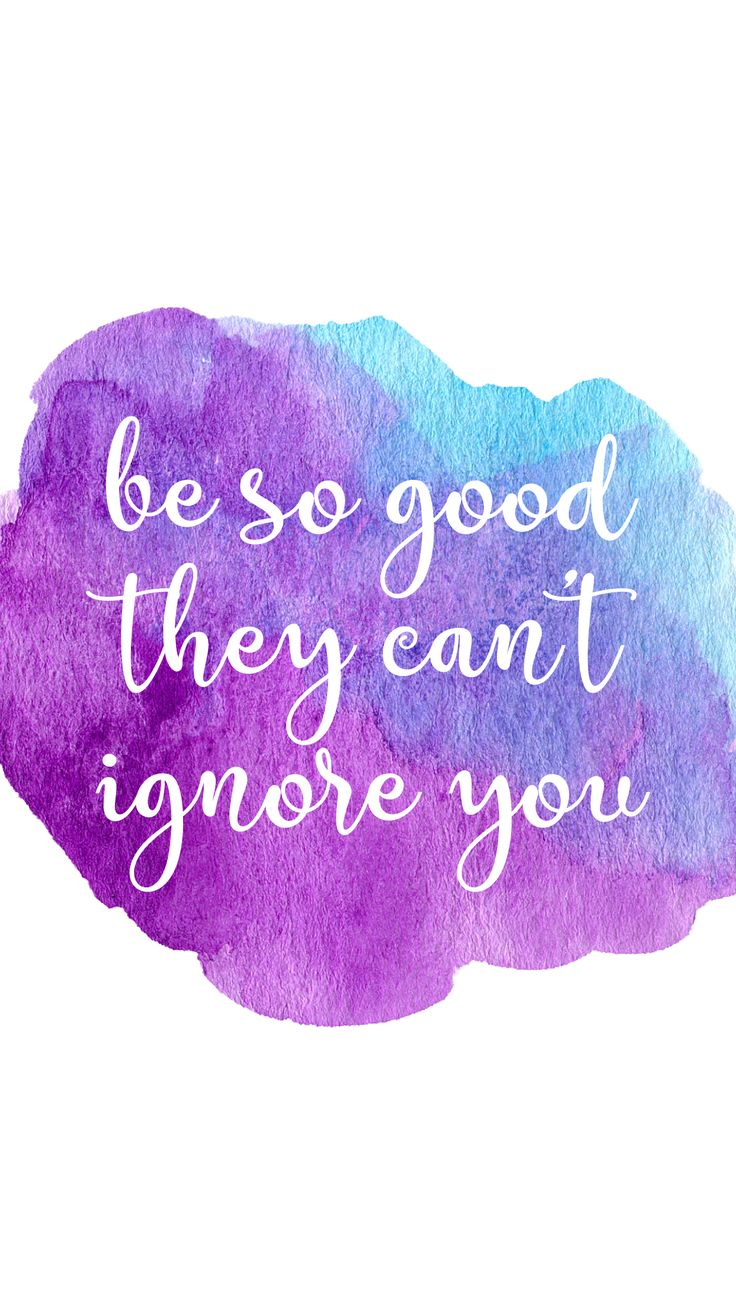 Be So Good They Can't Ignore You - Wallpaper Freebie — Life With Chnar'John