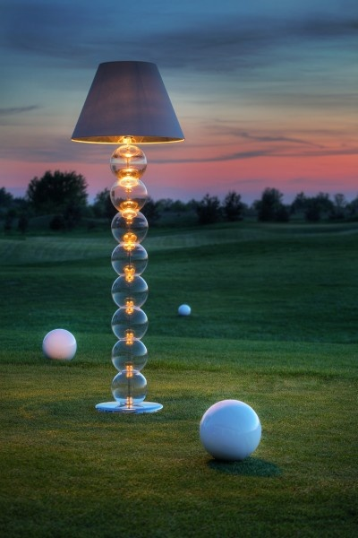 Golf at night by AlmiDecor