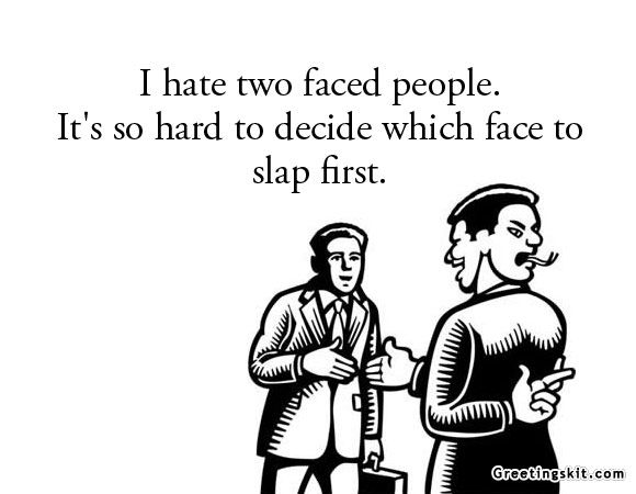 Two Faced Friends Quotes. QuotesGram