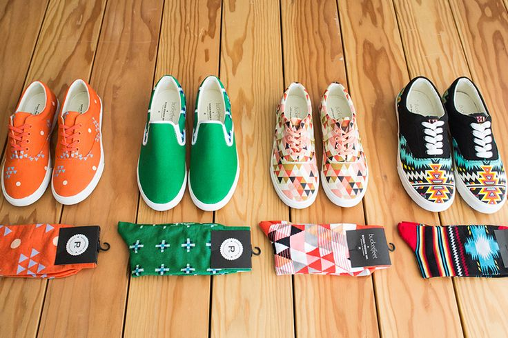 Richer Poorer x Bucketfeet collaboration