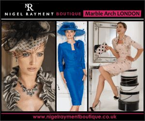 Boutique Animated Banner Design displaying elegant and sophisticated ladies dresses and ladies dress suits from fashion designers. Boutique in Marble Arch London UK. Ladies Fashion banner design size 300 x 250 by Bip Banners.