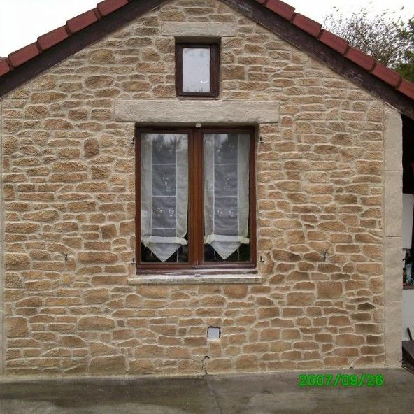 Decopierre wall coating stone natural stone wall - Exterior wall finishes materials ...