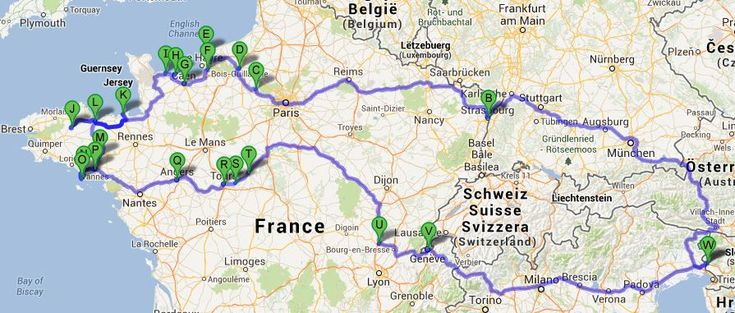 Si parte … verso la Normandia ;-) | LuxLucis