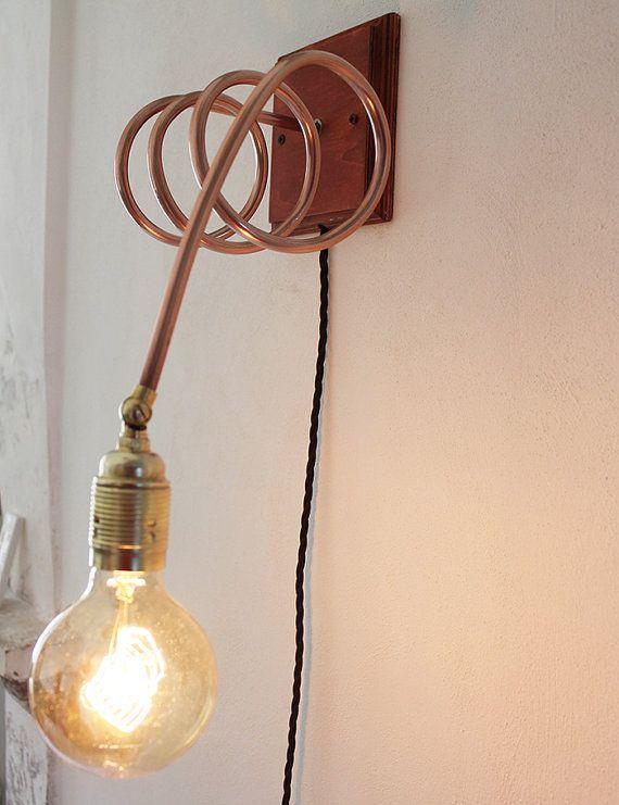 die besten 25 lampe holz kupfer ideen auf pinterest lampe rosegold schreibtisch aus holz und. Black Bedroom Furniture Sets. Home Design Ideas