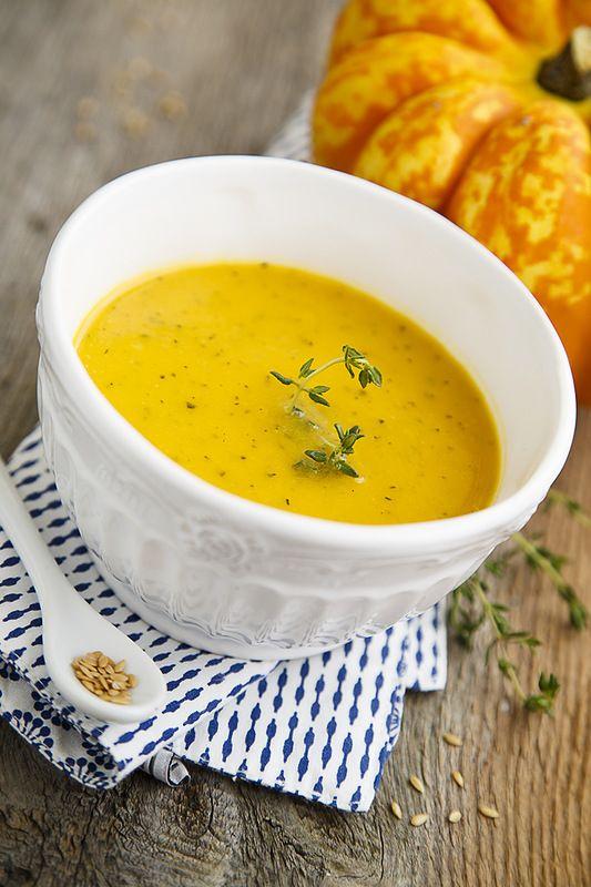 Согреться осенним днем: суп с тыквой и кабачком - Home is in the kitchen