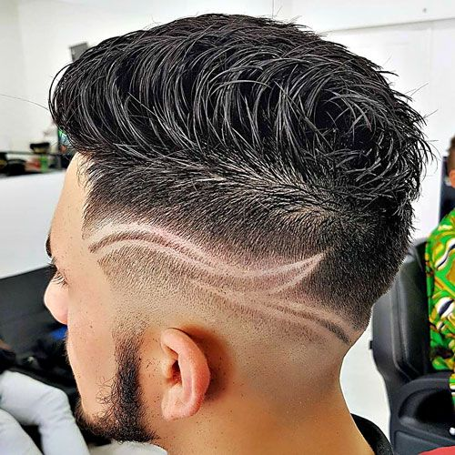 barber hair designs for men - photo #13