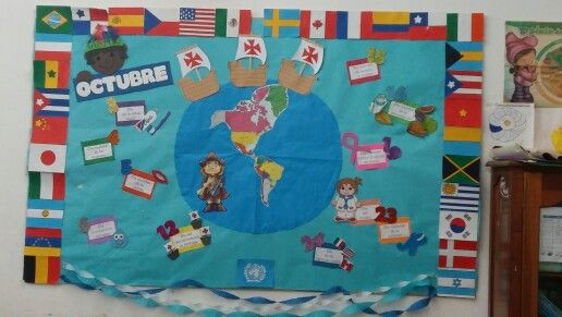 Periódico mural octubre por Blanca Moyano