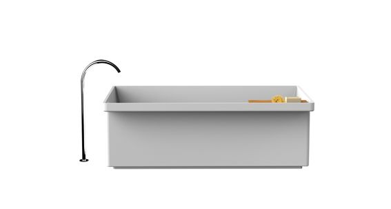 Cristalplant Design Contest 2014 - Winner Category: bathroom complements Designers: Paolo Lucidi and Luca Pevere Project: Canal Grande