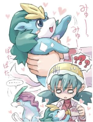 Cute Baby Pokemon Graphics Code   Suicune Kris Cute Baby Pokemon ... <-- I find this very disturbing, yet adorable...