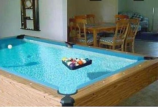 Pool, Pool Table. I will either have one like this, the pink one,or the mustang one for my future game room.