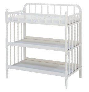 Amazon.com: DaVinci Jenny Lind Baby Changing Table - White: Baby
