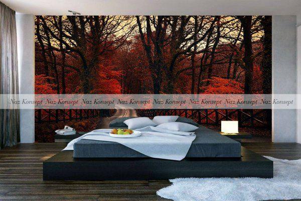 3D Yatak Odası Duvar Kağıdı 26