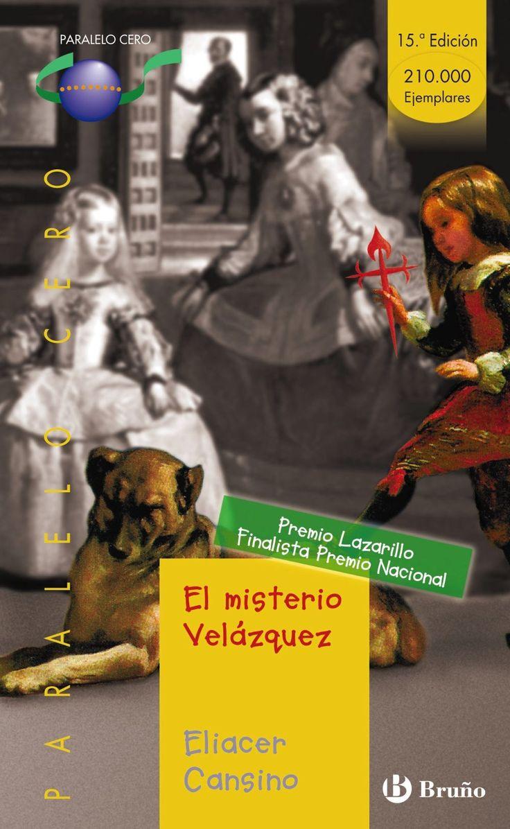 El misterio Velázquez (premio lazarillo 1997)-Eliacer Cansino-9788421631928  La vida nunca ha sido fácil para Nicolás Pertusato, un muchacho italiano en la corte española que asiste a la creación de una de las obras maestras del arte universal La meninas. Su testimonio nos cuenta qué acontecimientos permiten que él sea uno de los personajes retratados y las oscuras intrigas palaciegas en las que se ven envueltos Velázquez y un misterioso personaje.