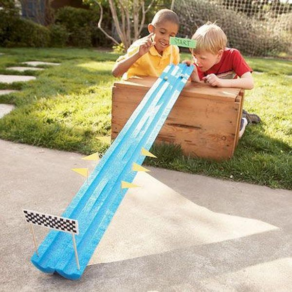 marble run game interesting things to do out there in your backyard
