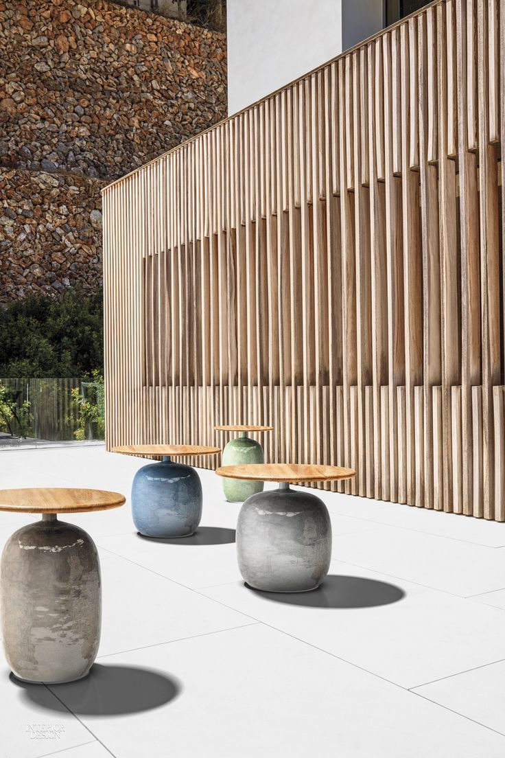 3 New Outdoor Products in Indonesian Teak by Gloster Furniture